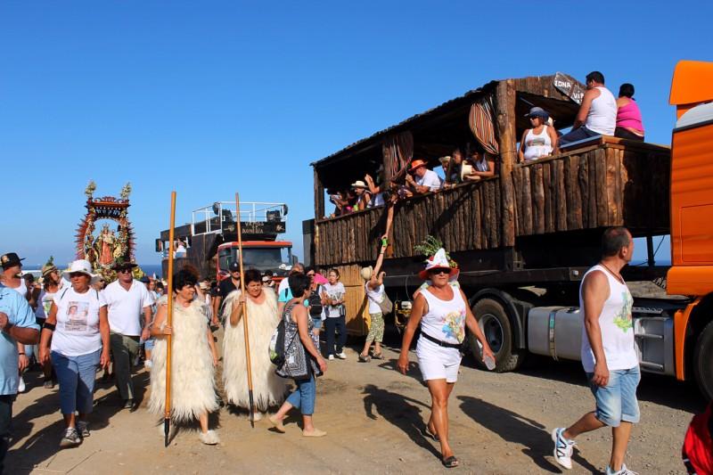 Религиозное шествие на Тенерифе