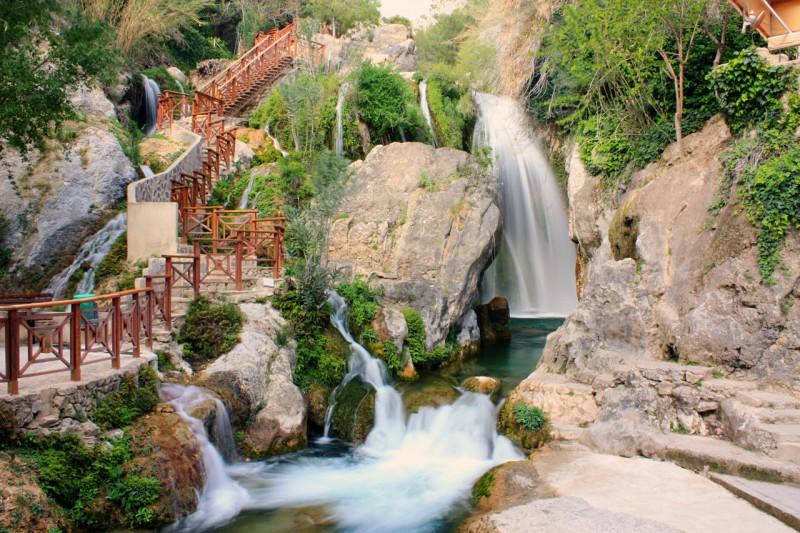 Источники и водопады Альгара