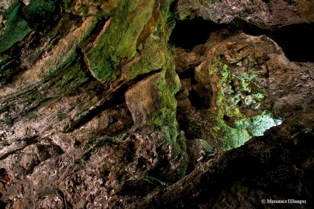 В пещере Лос Вердес