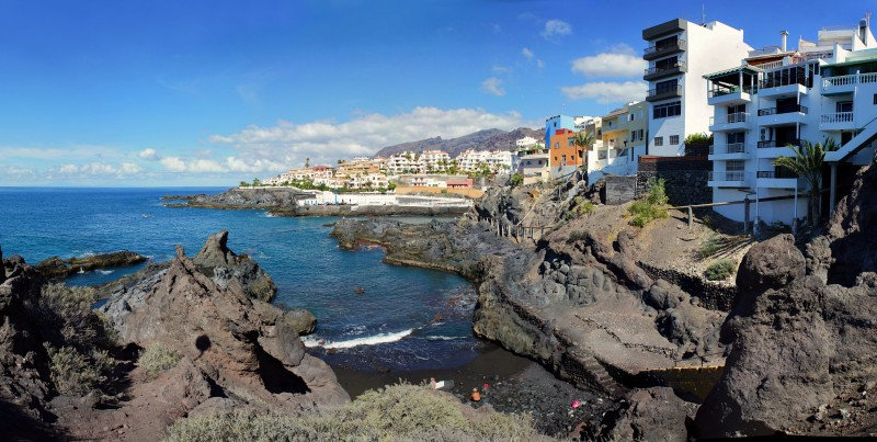 Прибрежный городок Puerto de Santiago