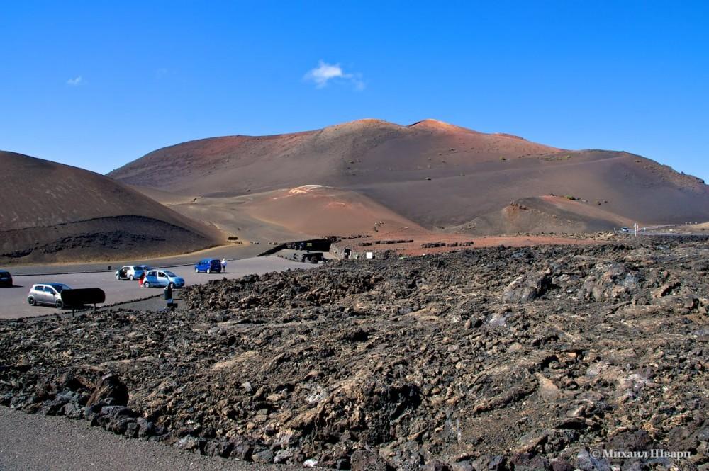 Парковка рядом с маршрутом Echadero de Camellos