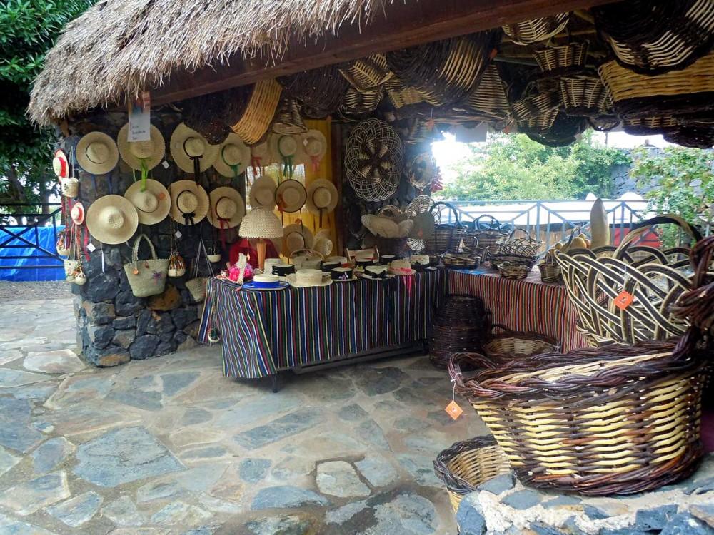 Плетеные изделия (фото: Casa de los Balcones Balcones)