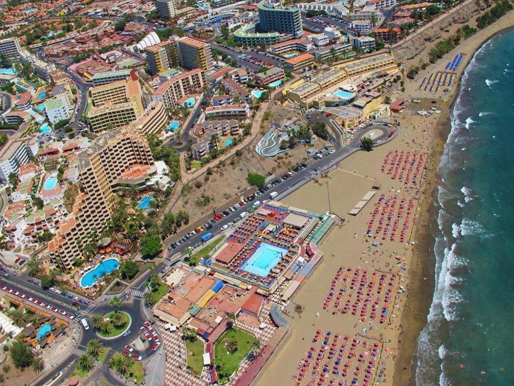 Огромный курортный комплекс Маспаломас (фото: El Coleccionista de Instantes)