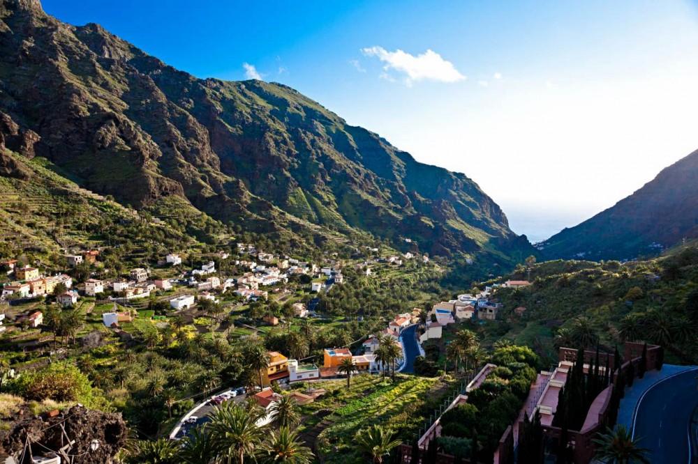 Зеленая долина Valle de Gran Rey (фото: Michele Solmi)