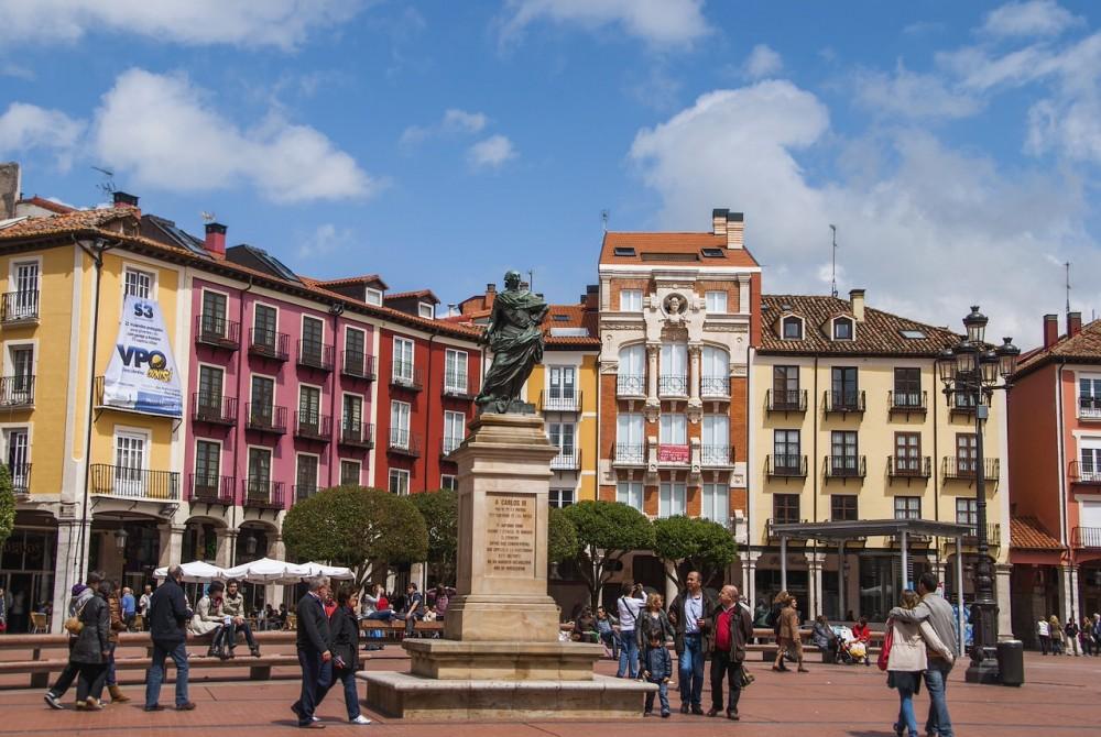 Площадь Mayor города Бургос (фото: Jaime Pérez)
