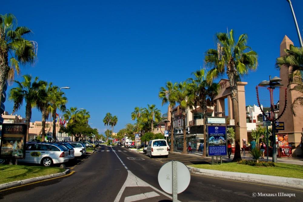 Улицы Лас Америкас
