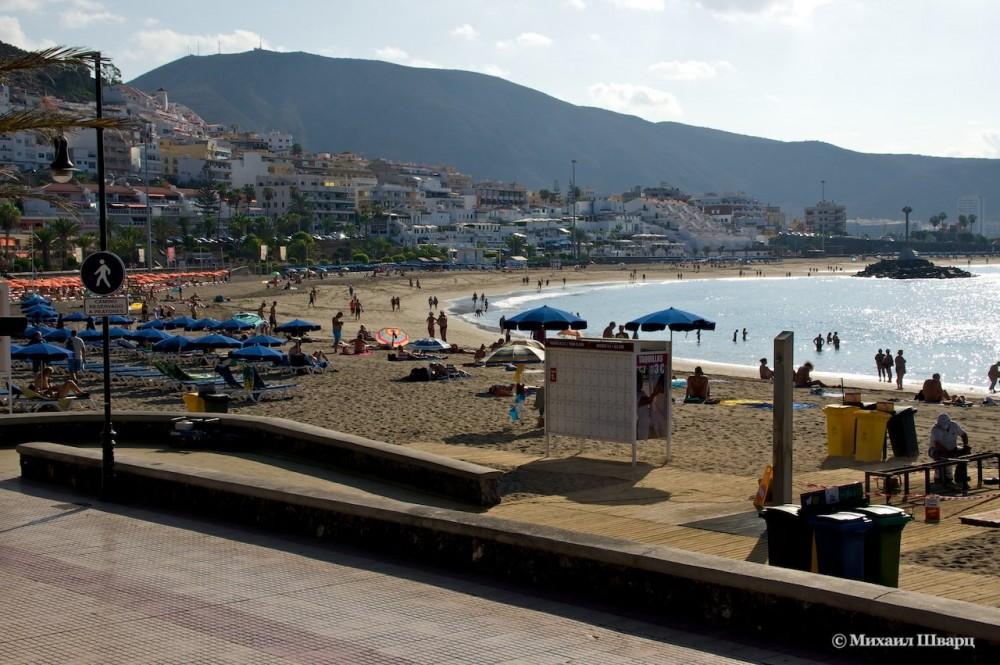 Пляж  De las Vistas