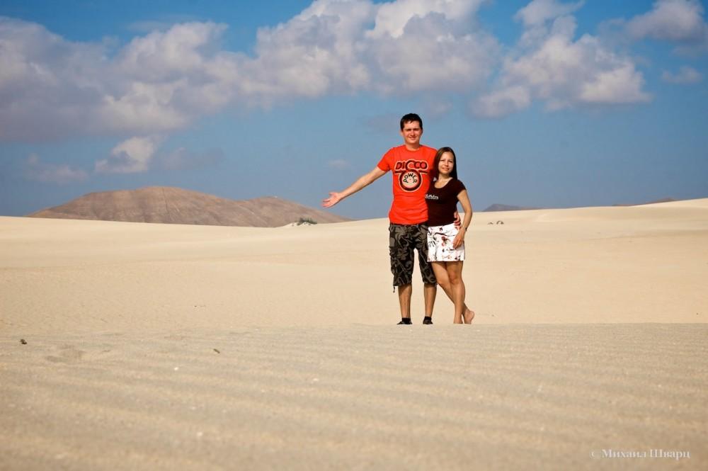 Дюны рядом с Корралехо