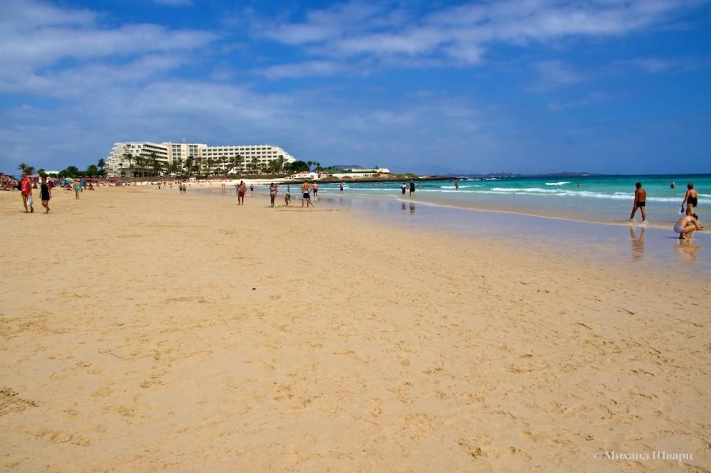 Пляжи Корралехо