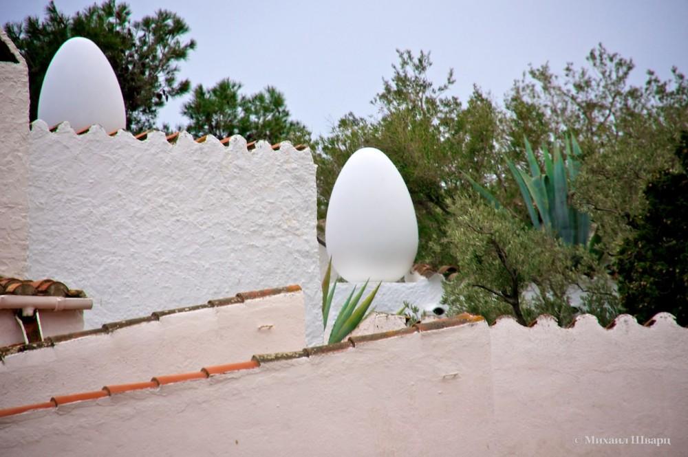 Крыша Casa-Museu Salvador Dalí
