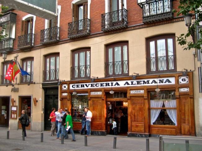 Пивная Алемана в Мадриде