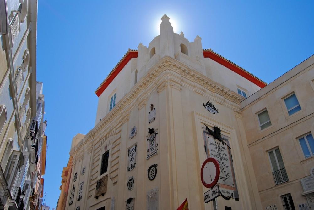 Фасад часовни Святого Фелипе (фото: Francisco Herrera)
