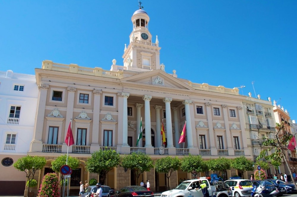 Ратуша (Ayuntamiento de Cádiz) (фото: Jesús Felipe Trujillo)