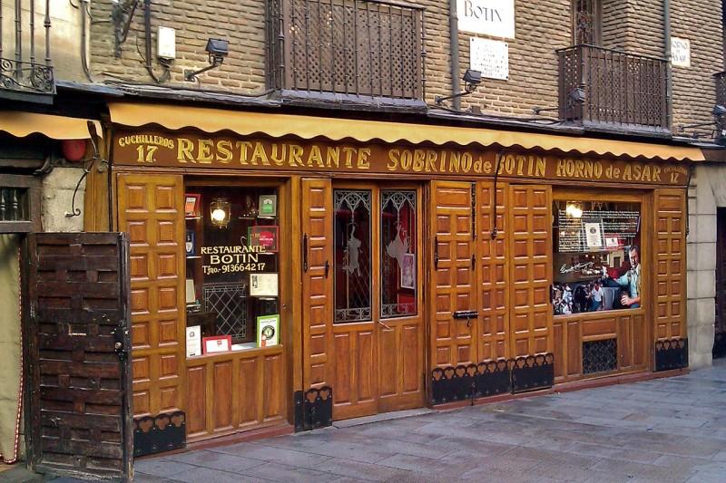 Ресторан Собрино де Ботин