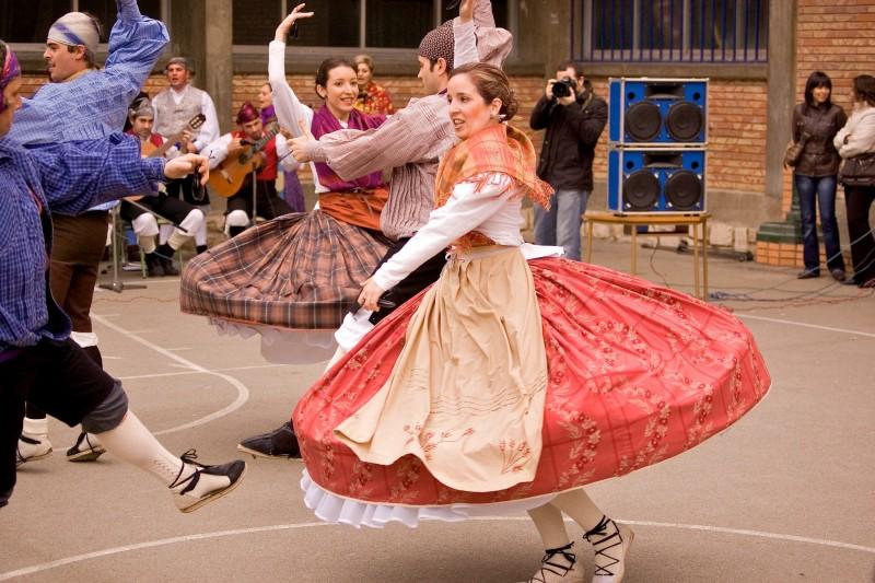 Арагонская хота (Hota aragonesa) – парный испанский национальный танец