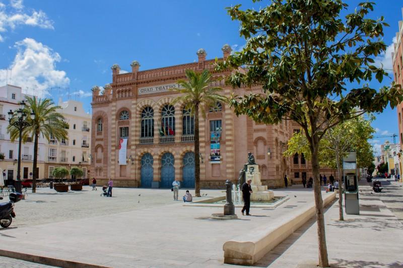 Большой театр Фалья в Кадисе