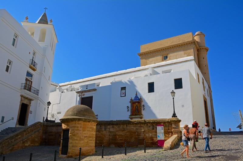 Церковь Santa Cruz – Кафедральный собор Кадиса до 1838 года