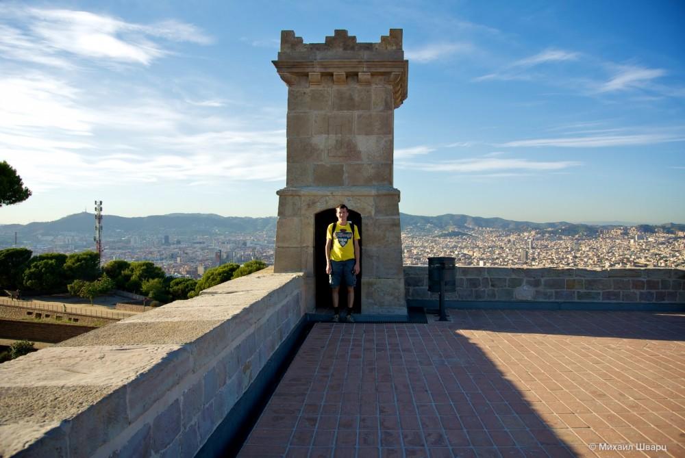 Я в смотровой башне на крепости