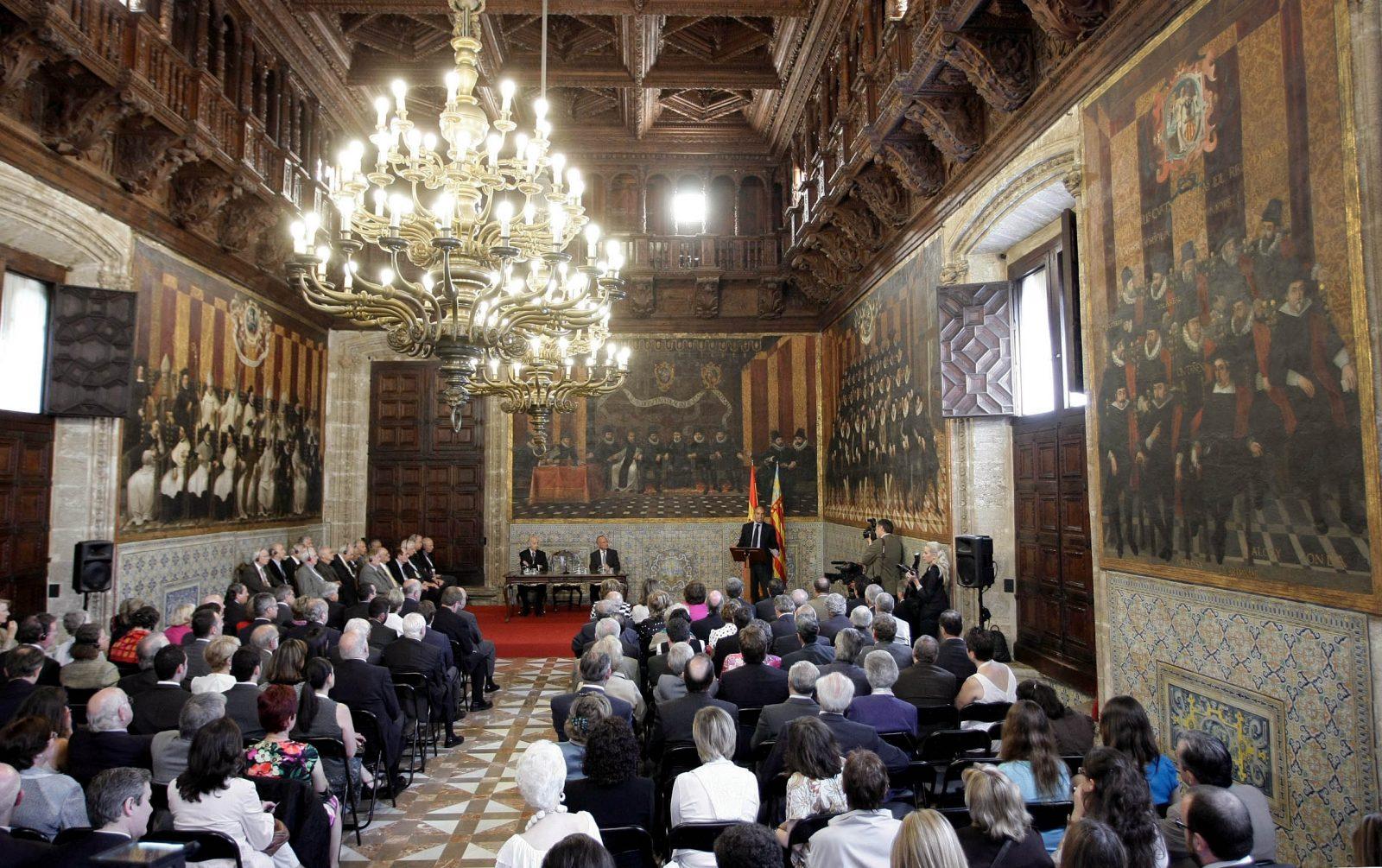 Зал Кортесов или Нова палата (фото: Francisco Camps)
