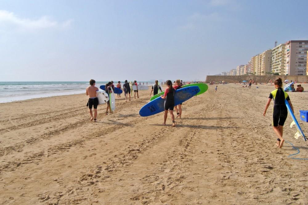 Пляж Cortadura (фото: Francisco Herrera)