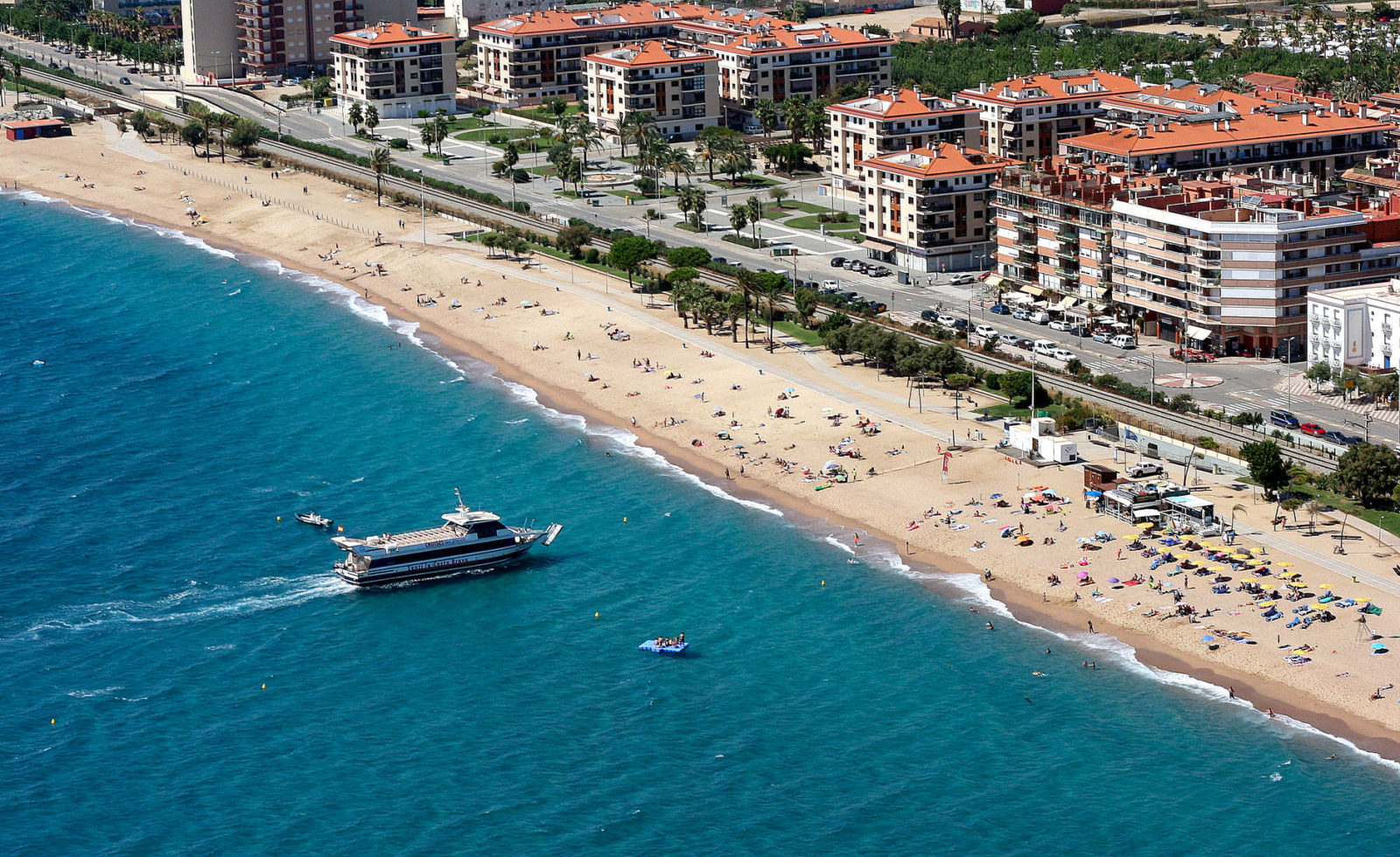 Знаменитый городской пляж