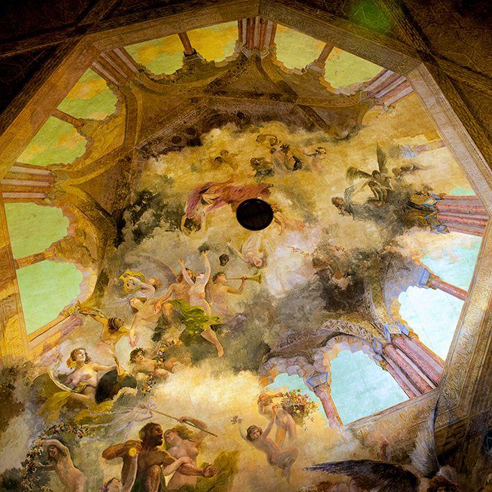 Изображение на куполе театра (фото: Victor Iglesias)