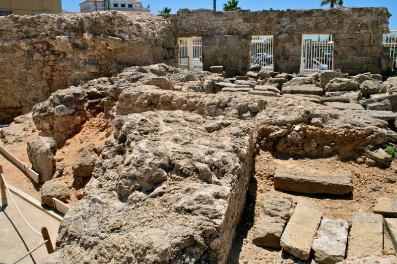Развалины римского театра