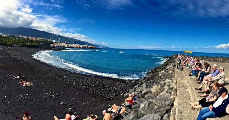 Пляж Хардин (Playa Jardín)