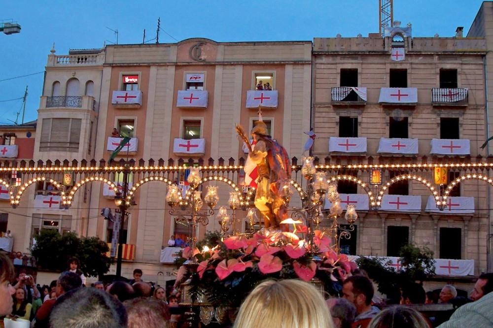 Святой Георгий – покровитель города (фото: Juan Seguí Moreno)