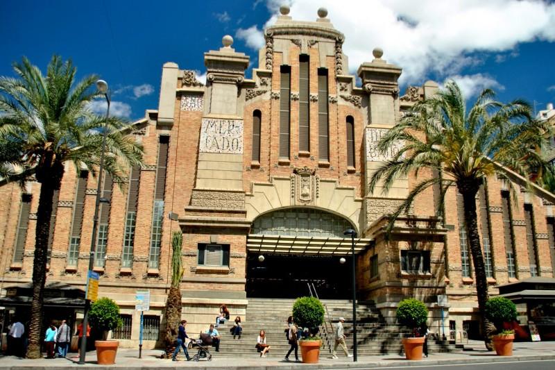 Здание центрального рынка