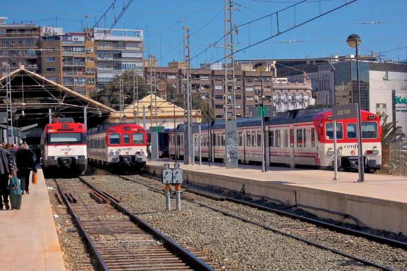 Ж/д станция Аликанте