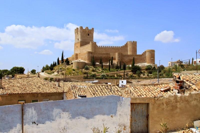 Крепость в городе Вильена