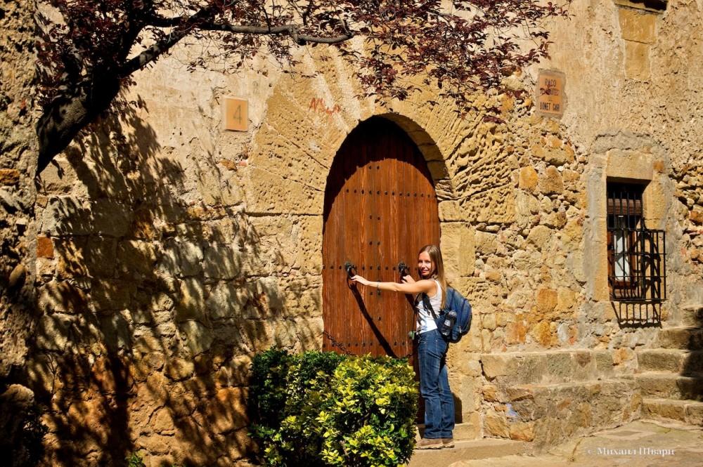 Старинные деревянные двери