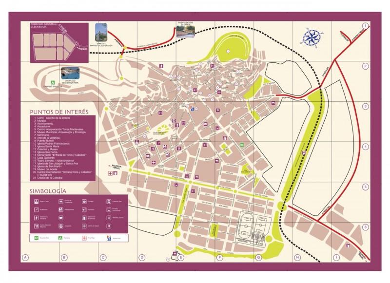 Карта Сегорбе