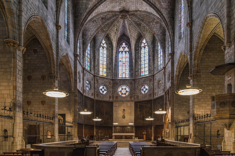 Внутреннее убранство церкви (фото: Xavier Mejias)