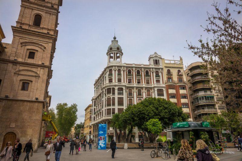 Площадь Santa Domingo