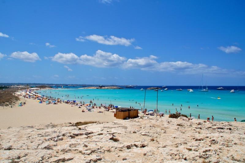 Сес Ильетас – известнейший пляжей острова Форментера