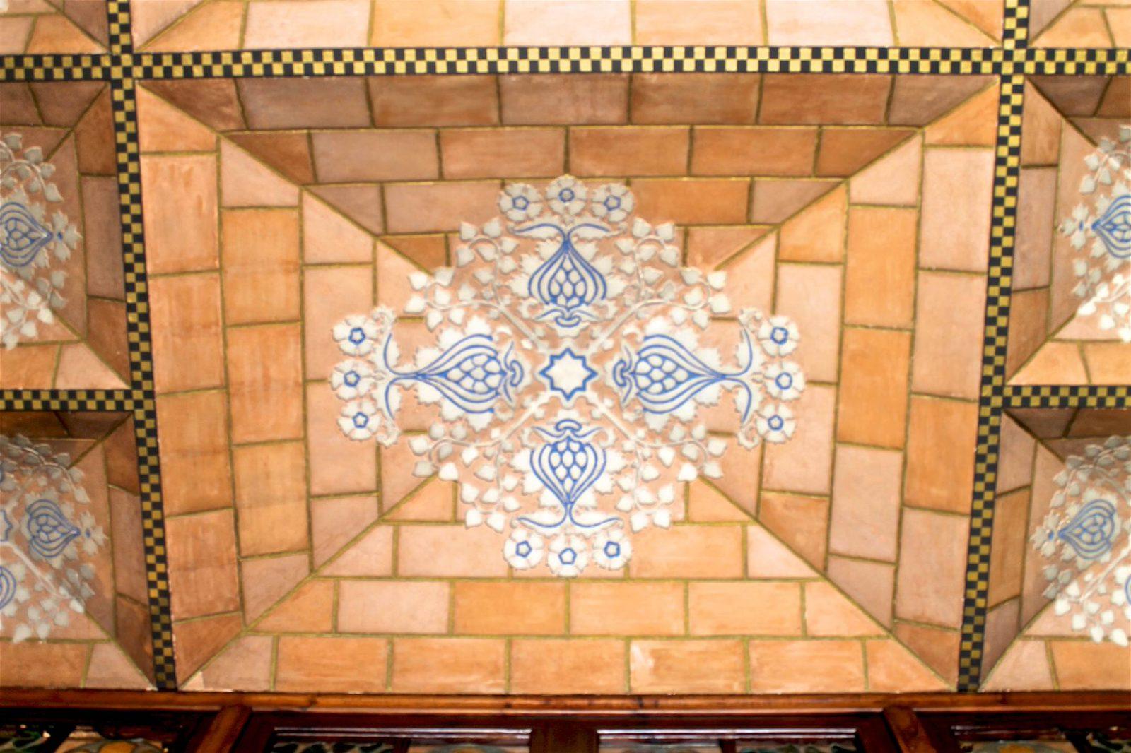 Потолок (фото: Eixample Comunicacio)