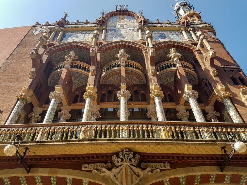 Дворец каталонской музыки (Palau de la Música Catalana)