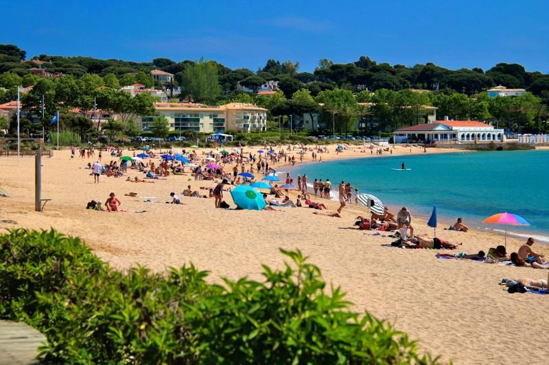 Пляж Сан Поль в S'Agaró