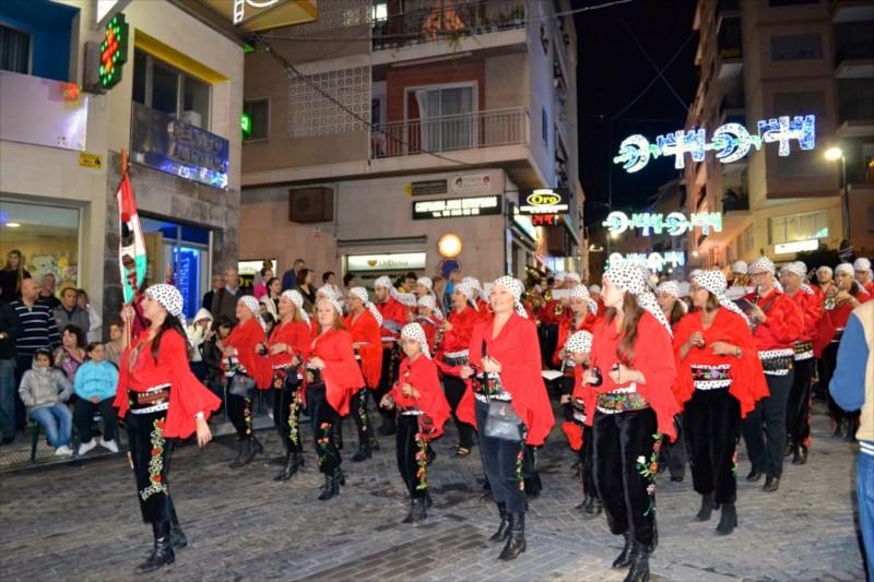 Праздничные мероприятия в Кальпе