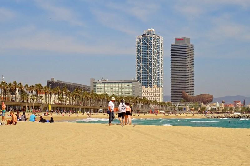 Барселонета – городской пляж Барселоны