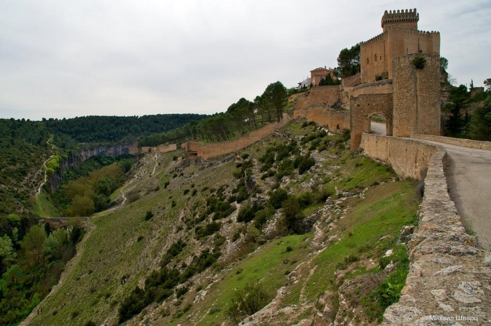 Замок Аларкон и окрестности