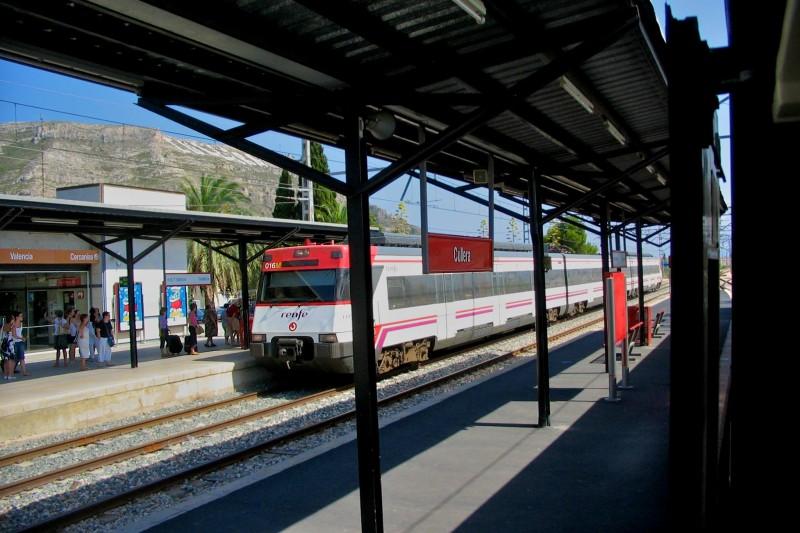Железнодорожная станция Кульера