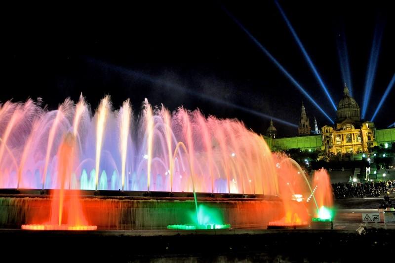 Цветомузыкальный Магический фонтан