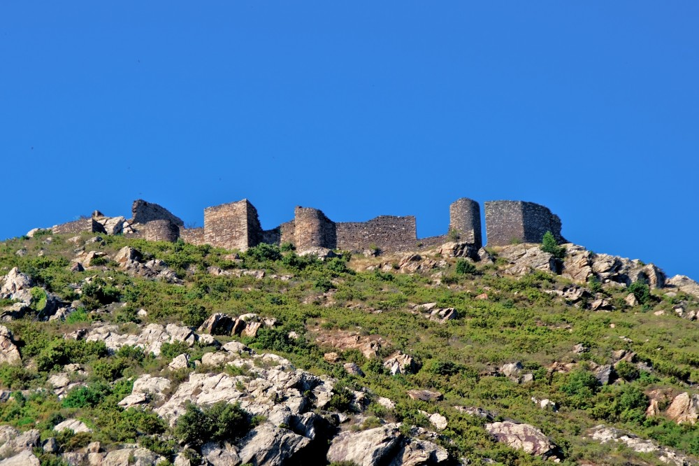 Руины Вердерского замка (фото: TONI MARIN GAIG)