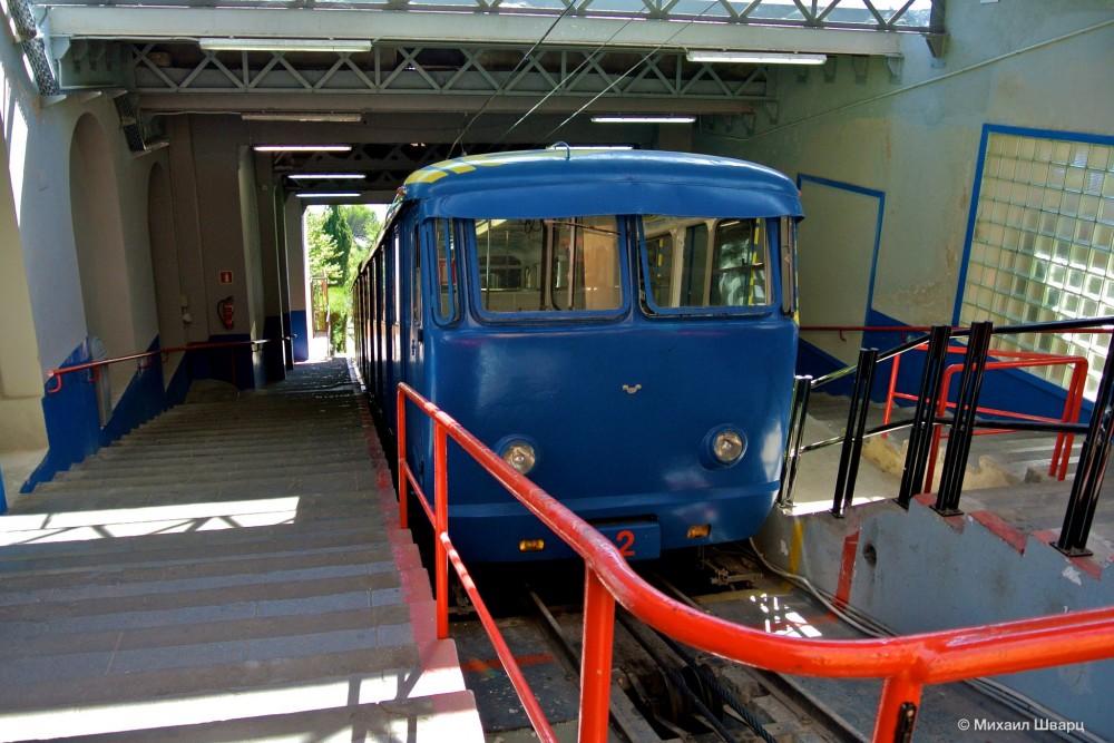 Фуникулер (Funicular del Tibidabo)
