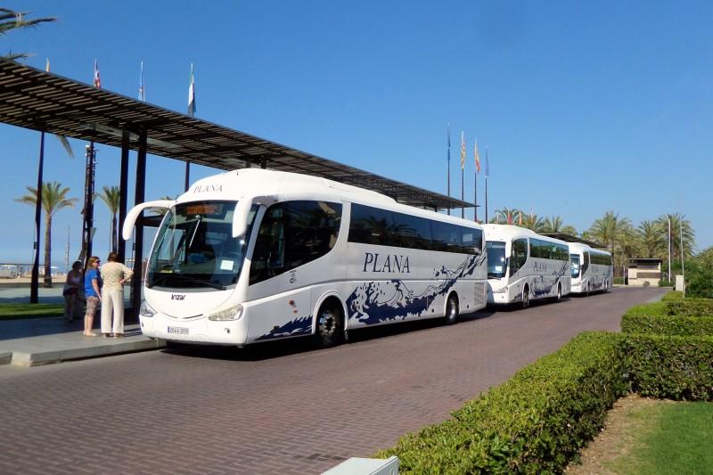 Автобусная станция в Салоу