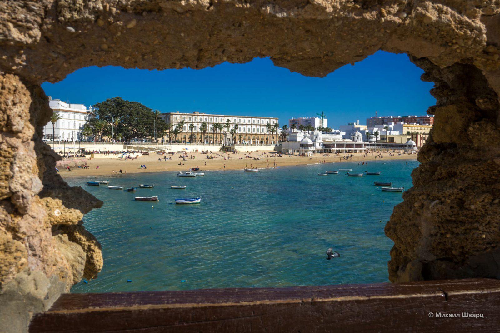 Пляж Caleta
