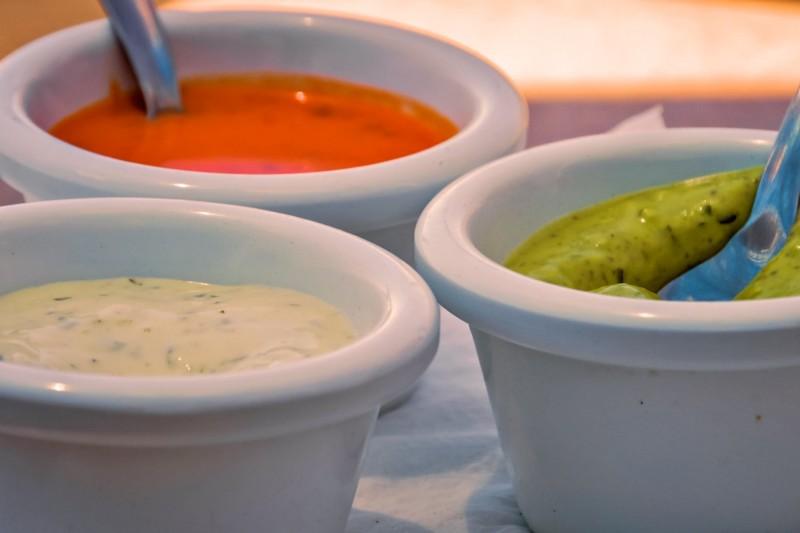 3 основных испанских соуса: alioli, Romesco и Salsa verde